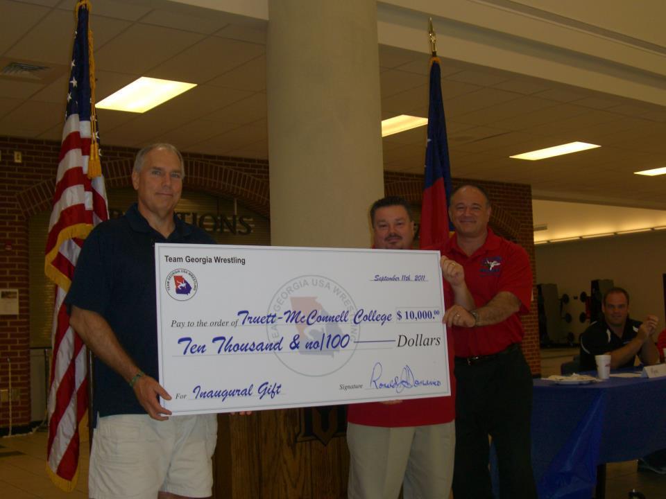 Truett-McConnell College Donation