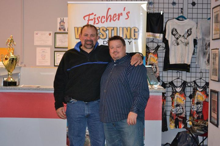 Rick Steiner and Anthony