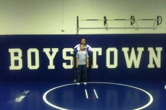 Anthony and Adam BT Wrestling Room
