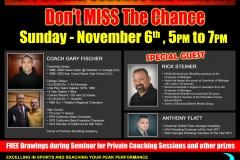 Seminar with Rick Stiener